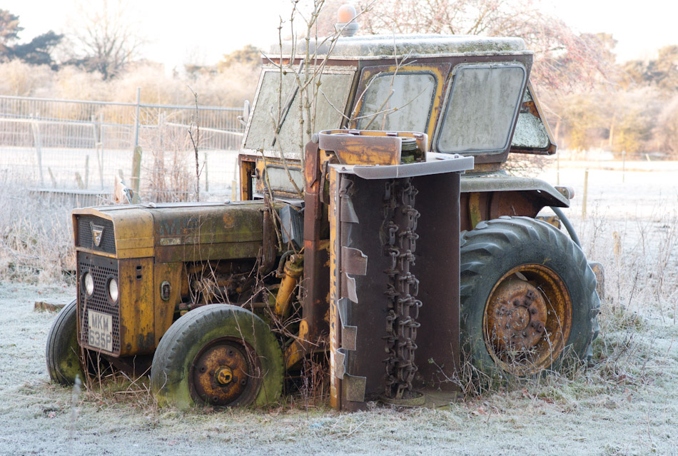 Frost tractor